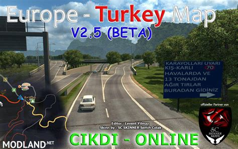 europe turkey map  mod  ets