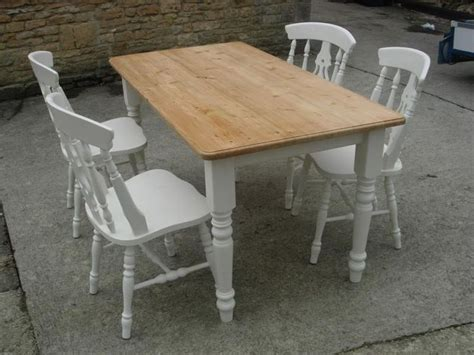 painted table and chairs dining room ideas