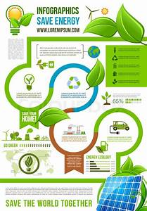Save Energy Infographics For Ecology