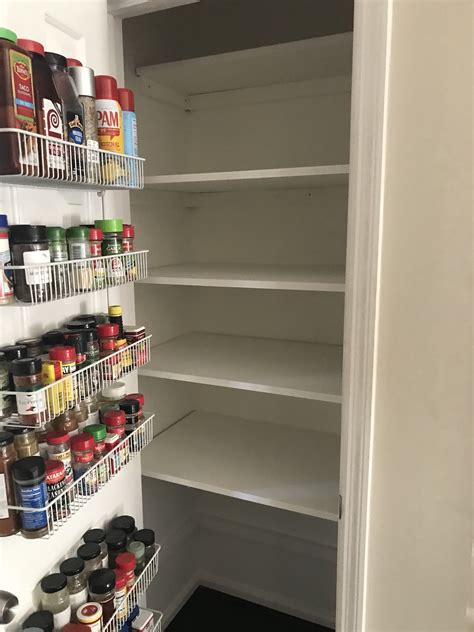 diy small pantry storage shelves knowing krescent