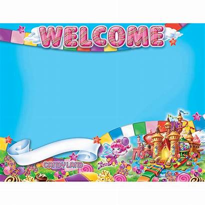 Candyland Candy Land Clipart Welcome Poster Board