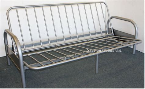 Metal Frame Futon Sofa Bed by Metal Futon Sofabed Frame Silver Sofa Bed Futon