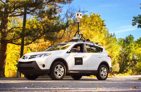Photos And Details Of Uber's Map-making Car