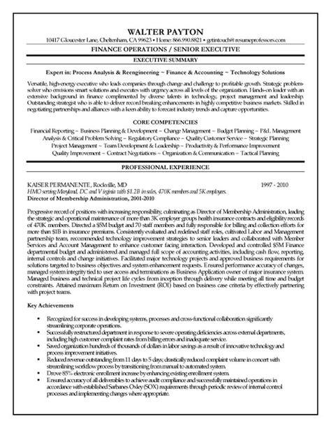 finance executive resume http jobresumesle 119