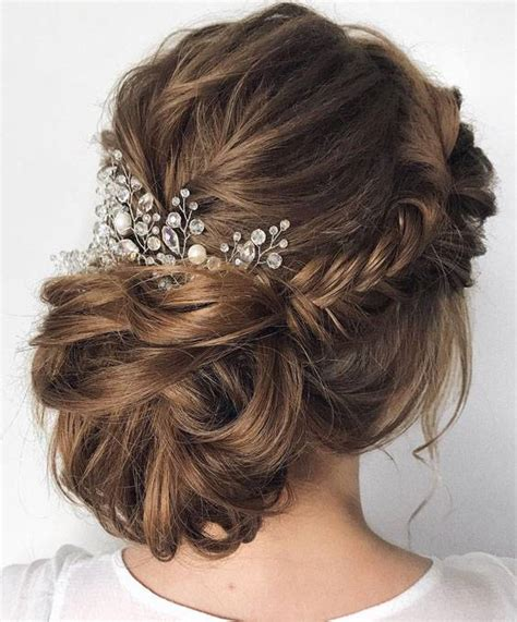 44 romantic wedding updo hairstyles for every bridal in