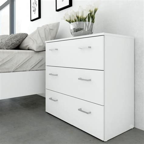 chambre blanche ikea commode blanche chambre commode plage en pin massif