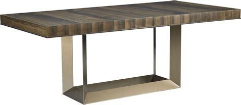 extendable rectangular dining table ad modern organics smokey quartz bandon extendable
