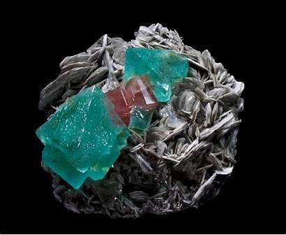 Mineral Fluorita Fluorite Pakistan Mundo Apatite Aquamarine