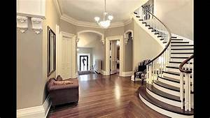 Home Entrance Foyer With Staircase - Foyer Interior Design