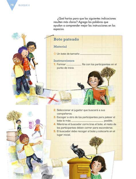 Libro de español 6 grado contestado pag 132. Español Sexto grado 2016-2017 - Online - Página 25 de 184 ...