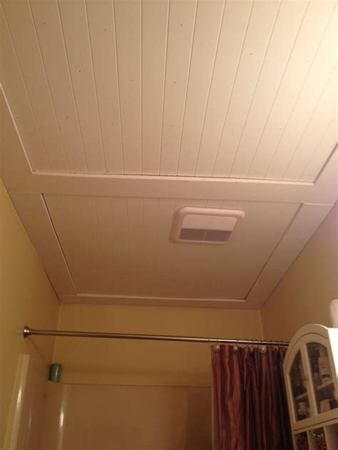 beadboard bathroom ceiling bathroom upstairs