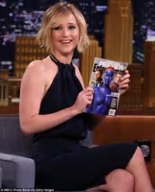 Jennifer Lawrence Jimmy Fallon