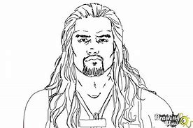 hd wallpapers roman reigns coloring pages