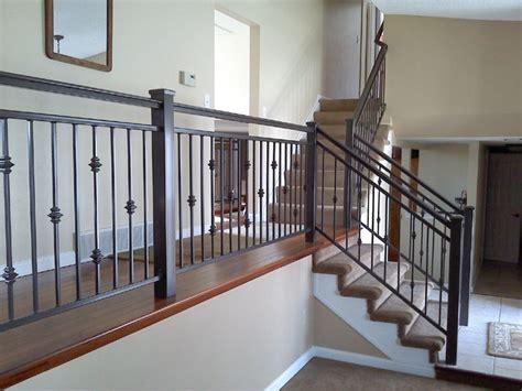 home interior railings interior iron railing traditional staircase denver by colorado custom iron works inc