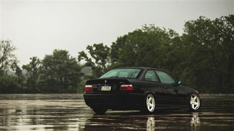 Black bmw m3, bmw m3 e36, stance, car, transportation, mode of transportation. BMW E36 Wallpaper (61+ images)