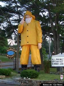 Fisherman Statue Boothbay Harbor Maine