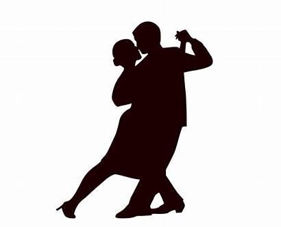Dance Ballroom Clip Clipart Dancing Silhouette Bachata
