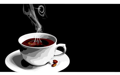 Find images in png and svg with transparent background. Coffee Vector Wallpaper by Kinemanism on DeviantArt