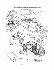 116 22312202 Kenmore Canister Vacuum Cleaner Manual