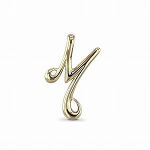 letter m pendant in a choice of metals With letter m pendant