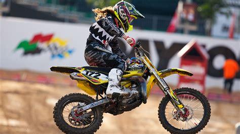 pro motocross riders names hannah hodges the uncertain state of women 39 s motocross