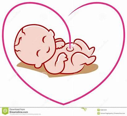 Born Clipart Clip Birth Line Heart Bluffton