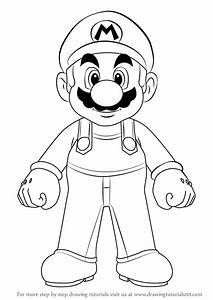 Learn How to Draw Mario from Super Mario (Super Mario ...