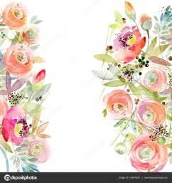 Vintage Watercolor Flowers
