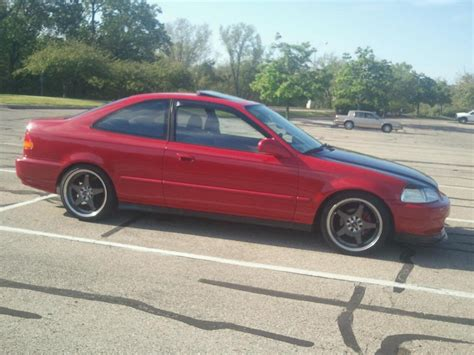 Mazda Bbs Wheels On 96 Civic Ex