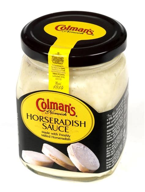 horseradish sauce sauces the best and worst revealed colman s horseradish sauce goodtoknow