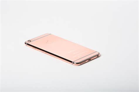 iphone pink gold iphone 6 plus in black finished in 24k pink gold 128gb