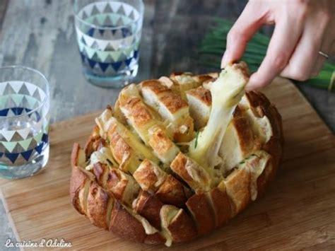 pain aperitif au fromage  raclette recette facile