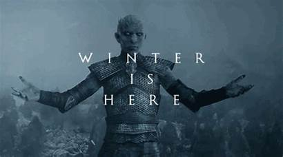 Thrones Winter Coming Animated King Walkers Gifer