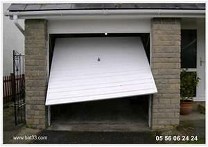 Portes de garage basculantes gironde for Accessoire porte de garage basculante