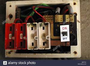 Old Style Consumer Unit Electrical Wire Fuse Box Stock Photo  Royalty Free Image  22667006