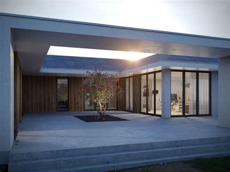 ᐅ Atriumhaus  Meisterwerk Massivhaus