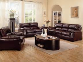 Brown Livingroom Living Room Decorating Ideas With Brown Leather Furniture