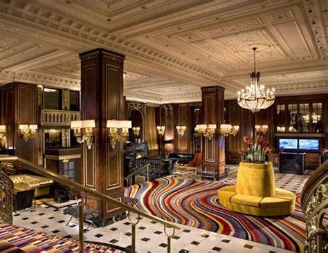 grand hotel lobbies fashion class jet lag  blog