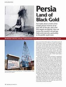 Pdf  Persia Land Of Black Gold