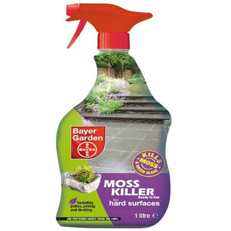 bayer moss killer ready to use 1 litre on sale fast