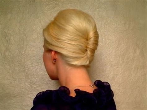 French twist hairstyle tutorial for short, medium long