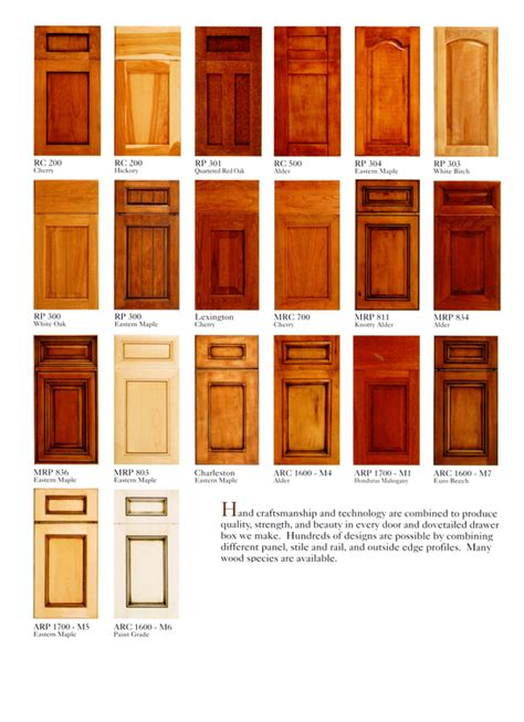 different types of kitchen cabinet doors types of kitchen cabinets doors roselawnlutheran