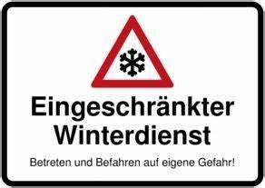 Warnschilder Selbst Gestalten : schild selbst drucken eingeschr nkter winterdienst ~ Orissabook.com Haus und Dekorationen