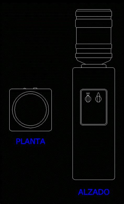 dispense autocad water dispenser in autocad cad free 29 78 kb