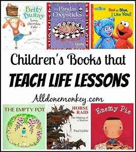 Children's Books that Teach Life Lessons - All Done Monkey