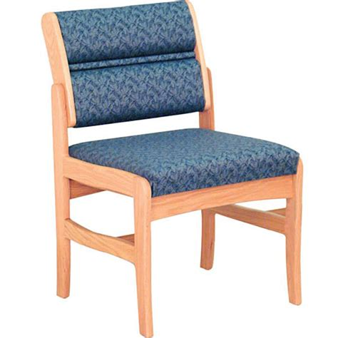 dakota wave waiting room chair without arms office zone 174