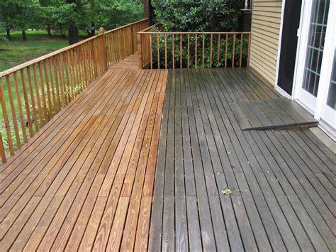 staining  pressure treated wood deck decks ideas