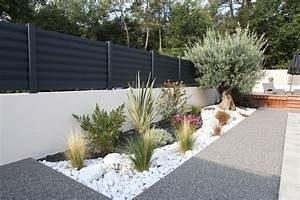 clotures aluminium modele brise vue menuiserie cloturel With exemple d amenagement de jardin