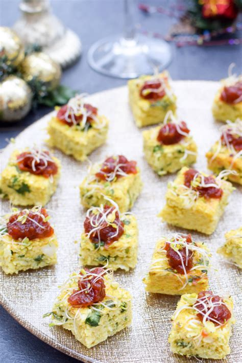 what does canape organic curried cauliflower canapés vegetarian gluten