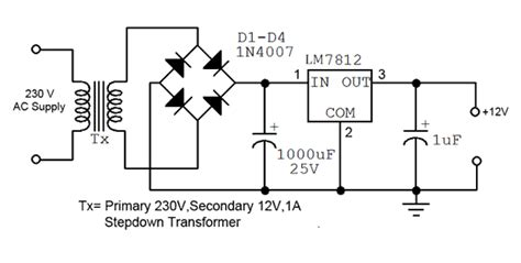 how to convert 230v ac to 12v dc quora